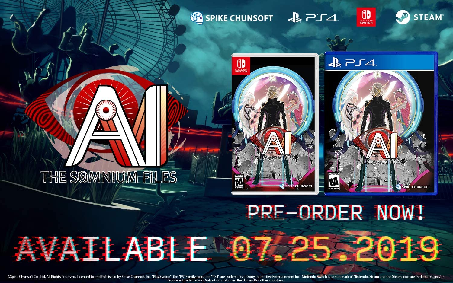 AI: The Somnium Files