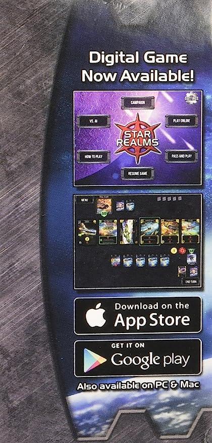 White Wizard Games, El Juego Deckbuilding de Star Realms.: Amazon.es: Juguetes y juegos