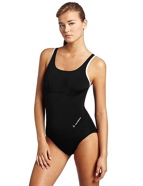 1adb5501c1 Amazon.com   Aqua Sphere Women s Rachel Swimsuits   Athletic One ...