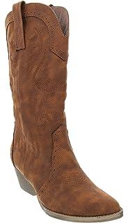 3e6e7814092 Amazon.com   American Rag Corrale Women US 6 Black Western Boot   Boots