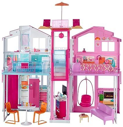 Barbie Casa De Campo Amazon Com Mx Juegos Y Juguetes