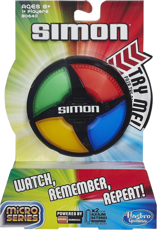 Hasbro Simon Micro Series Juego: Amazon.es: Juguetes y juegos