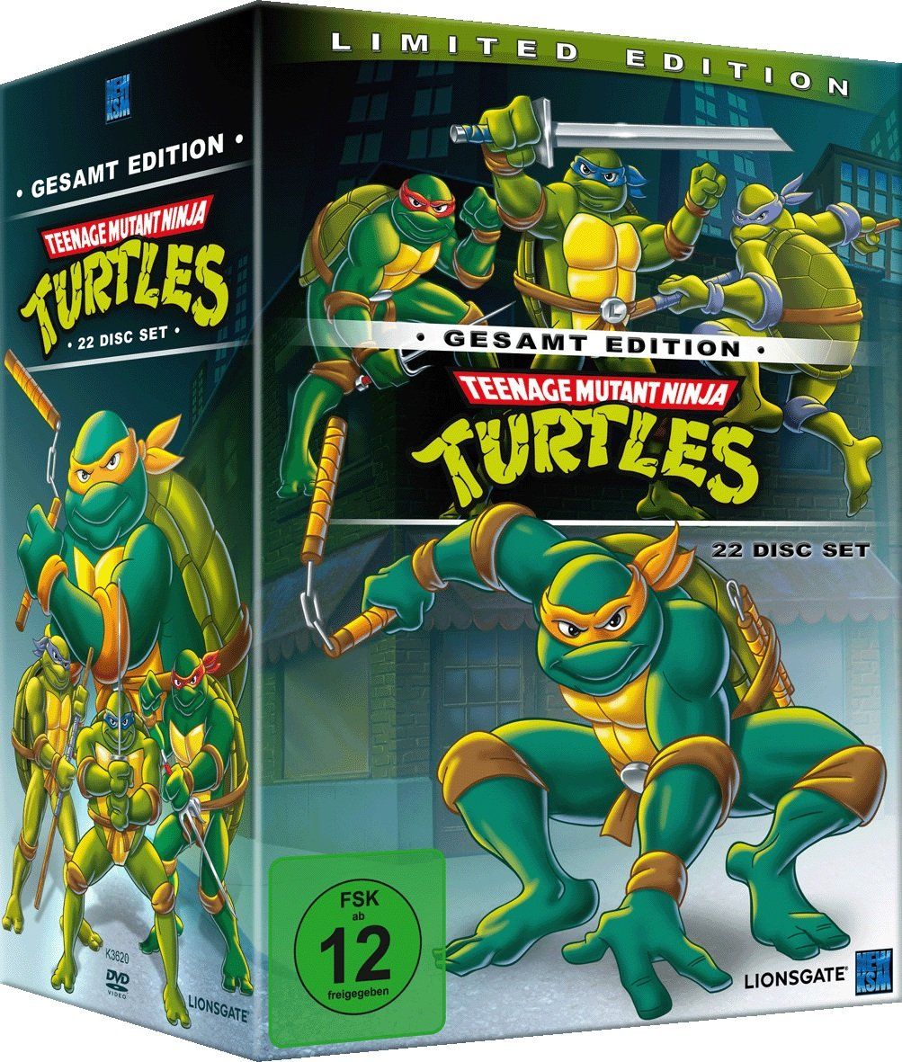 Teenage Mutant Ninja Turtles Limited Edition Gesamt Edition ...