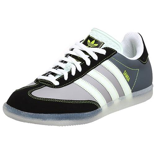 4a39aa5a6b76d Amazon.com | adidas Originals Men's Samba 80 Sneaker, Aluminum/Hydra ...