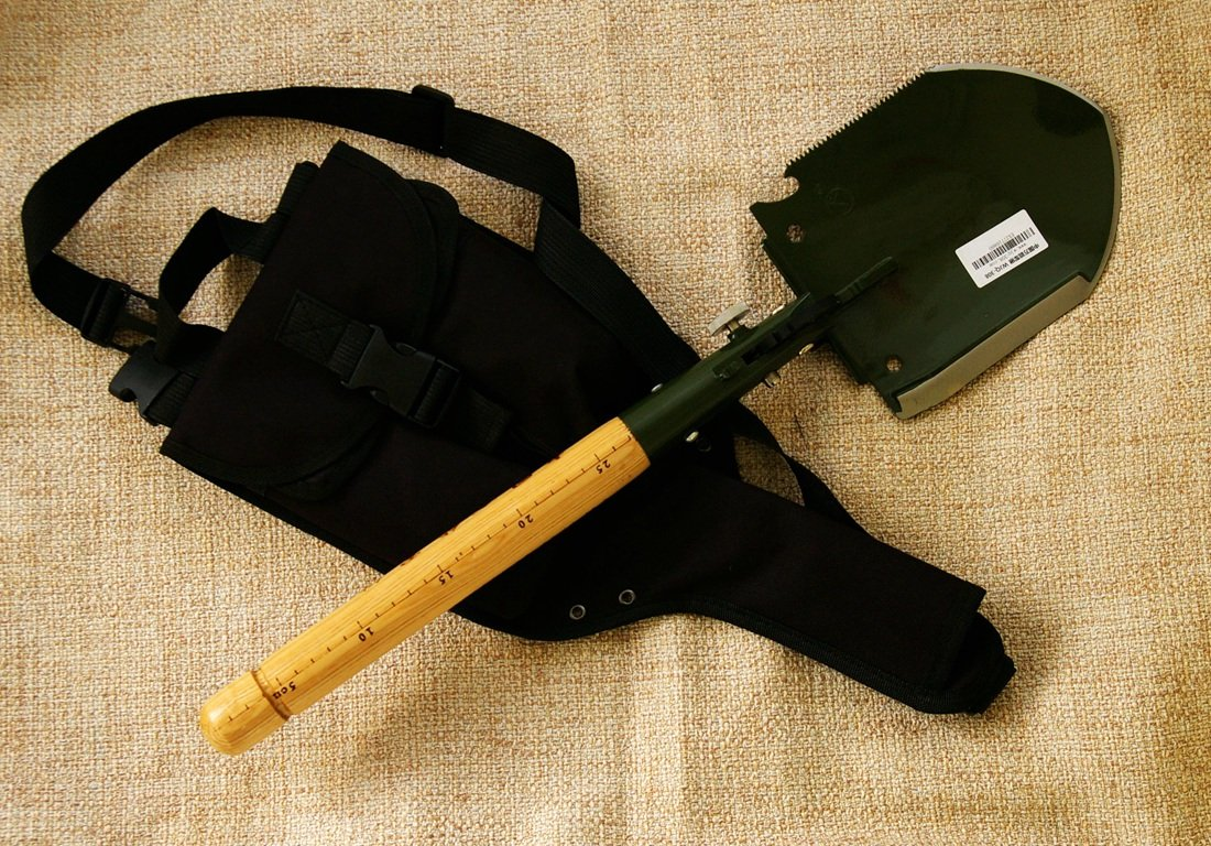 Chinese Military Shovel Emergency Tools WJQ-308 Ver 2012 with Original Waterproof Cases Bag Kit by WJQ (Image #3)