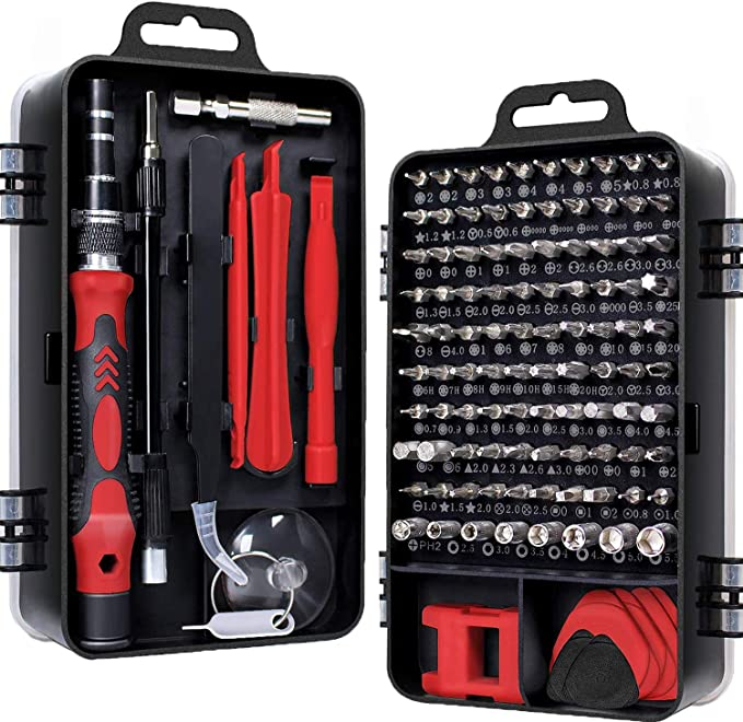 Family Must-Have Repair Tool Multifunction JF-8151 24 in 1 Universal Repair Tool Set with Bag for Phone Convenient