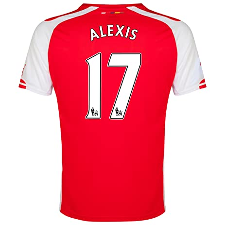 584bf2a9fde Arsenal Home 2014 15 Jersey (Official Puma) with Alexis 17 - Size Youth