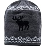 Pierre Cardin Designer Beanie Winter Hats for Women & Men in Solid Colors & Moose Knit Patterns