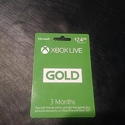 Amazon.com: Xbox Live Gold: 6 Month Membership [Digital Code ...