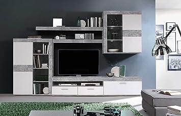 Designer wohnzimmerschrank  Anbauwand, Wohnzimmerschrank, Wohnwand, Schrankwand, Fernsehwand ...