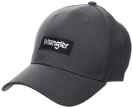Wrangler Logo Cap Gorra de béisbol, Gris (Mouse Grey M04), Talla ...