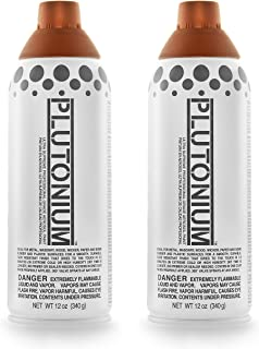 product image for Plutonium Paint Ultra Supreme Professional Aerosol Spray Paint, 12-Ounce, 3rd Place Bronze Metallic (2 Pack)