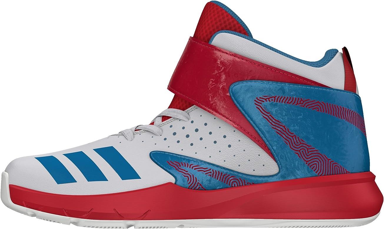 adidas BB Fun 2 K, Zapatillas de Baloncesto para Niños, Blanco ...