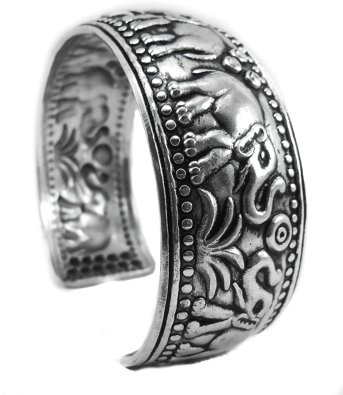 elephant bracelet bangle plated good luck holder jewelry love lucky rose saphire strength string teal tribal adjustable girls women