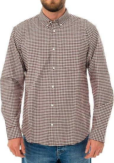 CARHARTT WIP Camisa para hombre L/S BINTLEY Shirt I028228.JD ...