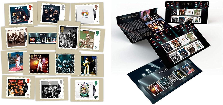 Livre de timbres Queen Prestige