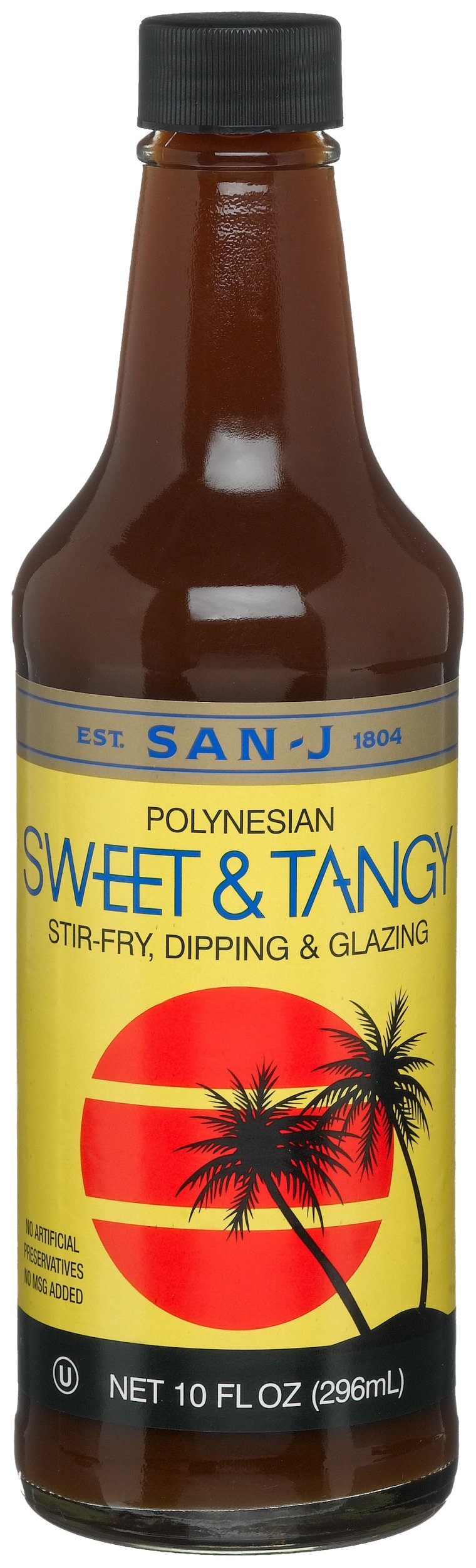 San-J Sweet & Tangy Sauce, 10-Ounce Bottles (Pack of 6)