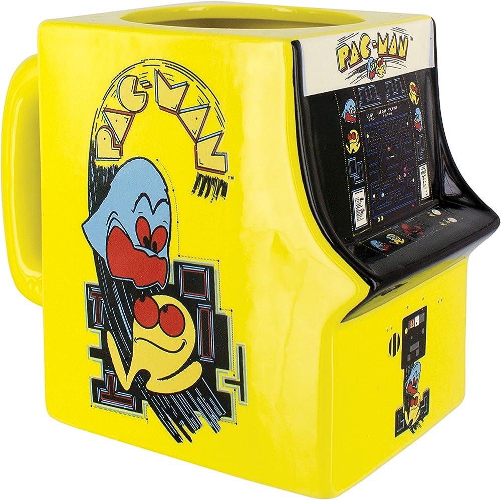 Paladone Pac-Man Arcade Cabinet Shaped Mug