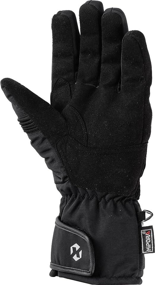 Dxr Motorradhandschuhe Lang Motorrad Handschuh Textilhandschuh 1 0 Motorradhandschuhe Herren Knöchelabdeckung Visierwischer Reflektoren Fleecefutter Schwarz 5 12 Bekleidung