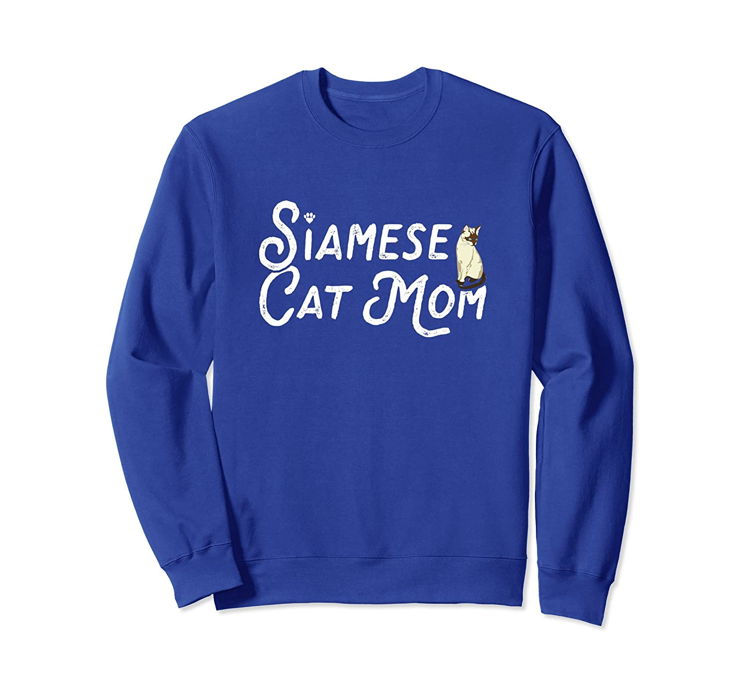 Women Sweatshirt for Cat Moms and Siamese Cat lovers-alottee gift