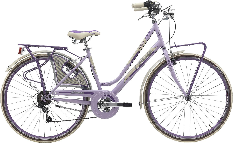 28 Pulgadas Mujer City Bicicleta 6 velocidades Cinzia Gipsy ...