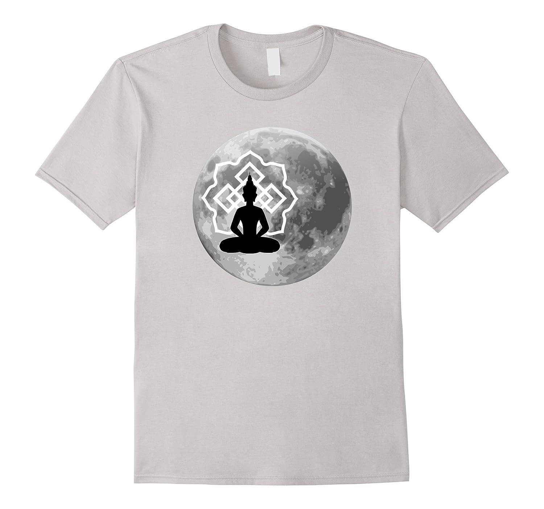 Buddha Moon t-shirt-Vaci