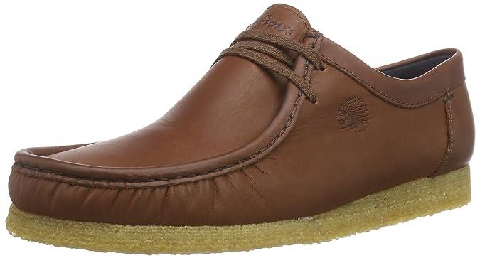 Sioux Grashopper-H-141 - Mocasines de Cuero Hombre, Color marrón, Talla 42: Amazon.es: Zapatos y complementos
