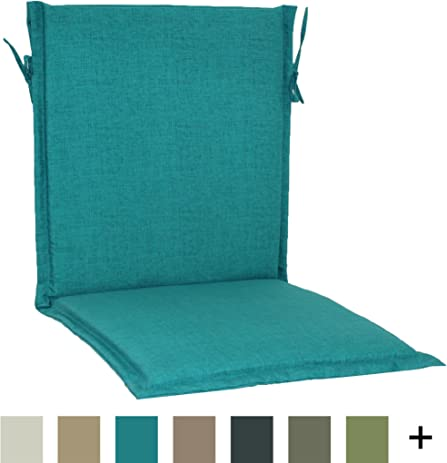 Brentwood Originals 35307 Indoor/Outdoor Sling Chair Cushion, Turquoise