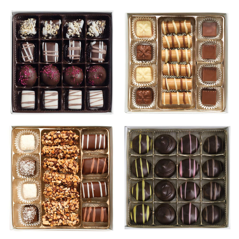 CDM product Valentine's Day Chocolate Heart Box - Assorted Chocolates Set of 4 (63 pc) big image
