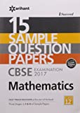 15 Sample Papers CBSE Examination 2017  Mathematics for Class 12