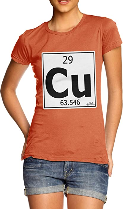 Amazon Twisted Envy Womens Periodic Table Element Cu Copper