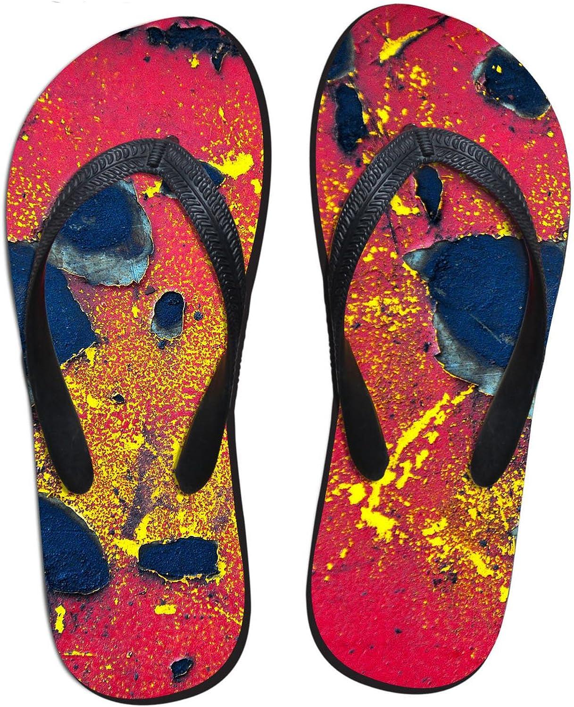 Flip-Flops Summer Flat Men Non-Slip Slippers Simple Simulation Wall Clip Feet Slippers