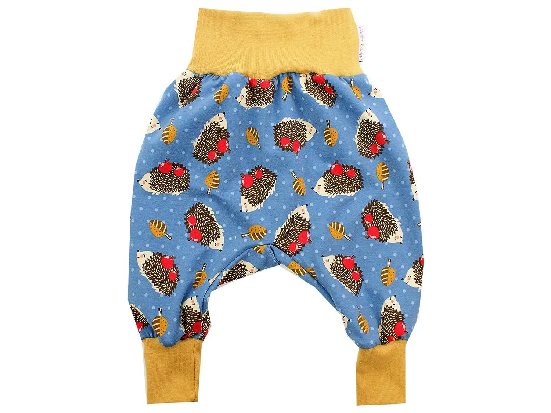 Kleine K/önige Pumphose Baby Jungen Hose /· Modell Herbst Igel Herbstzauber Camel /· /Ökotex 100 Zertifiziert /· Gr/ö/ßen 50-128