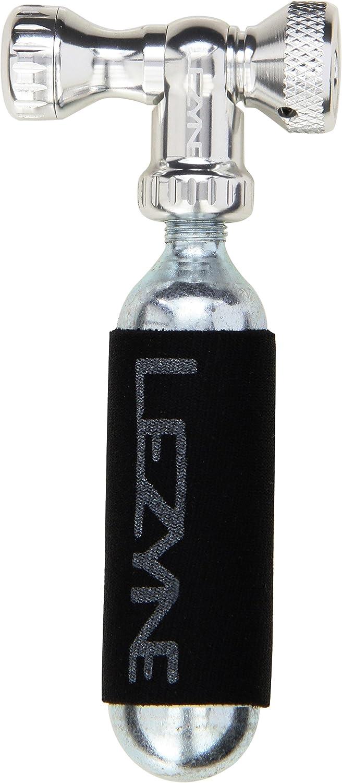 LEZYNE 47128059824VAR Cartouche Manchon Adaptateur r/égulateur Cool Drive CO2 SHRADER//Presta 16G