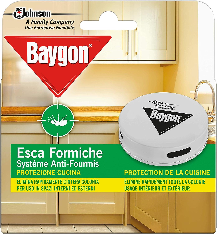 Paquete de 4 estaciones de cebo para hormigas insecticidas Raid para control de plagas, apto para uso en interiores y exteriores