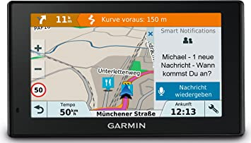 Garmin Drive Smart 51 Lmt D Ce Navigationsgerät Zentraleuropa Karte Lebenslang Kartenupdates Und Verkehrsinfos Smart Notifications 5 Zoll 12 7 Cm Touchdisplay 010 01680 23 Navigation