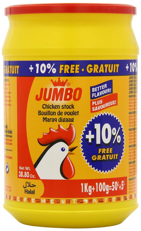 Jumbo Halal Chicken Stock Powder 1 kg (Pack of 2)