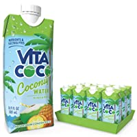Vita Coco Coconut Water, Pineapple - Naturally Hydrating Electrolyte Drink - Smart...