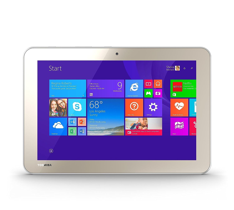 amazon com toshiba encore 2 wt10 a32 10 0 inch 32 gb tablet gold rh amazon com
