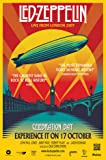LED ZEPPELIN CELEBRATION DAY POSTER PRINT APPROX SIZE 12X8 INCHES