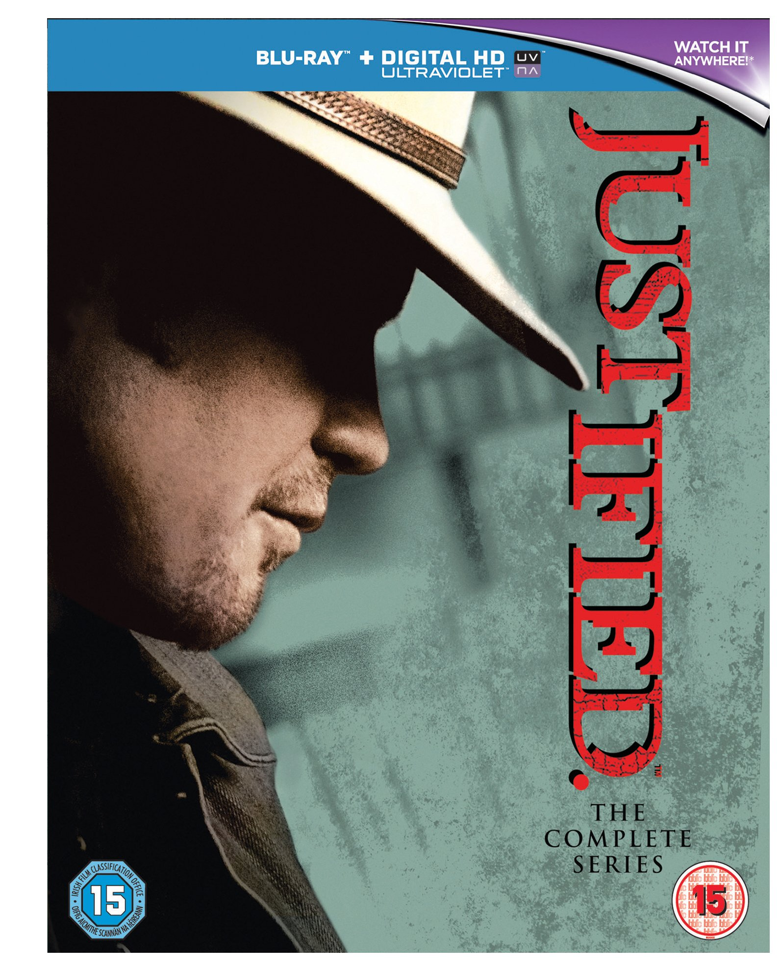 Justified: The Complete Series Blu-Ray [Region A & B & C] by Sony Pictures Home Entertainment