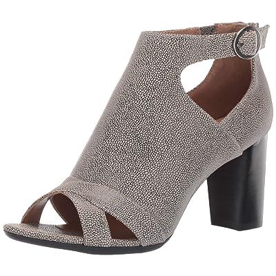 Amazon.com | Aerosoles - Women's Song Bird Pump - Opened Toed Dress Heel with Memory Foam Footbed | Pumps