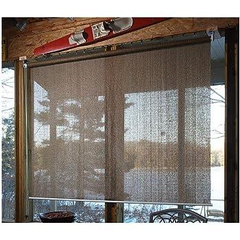 Amazon Com Castlecreek Sunscreen Roll Up Window Shade