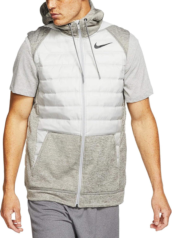 Todo tipo de declaración Línea de metal  Nike Mens Therma Full Zip Vest Winterized Bv4534-063 at Amazon Men's  Clothing store