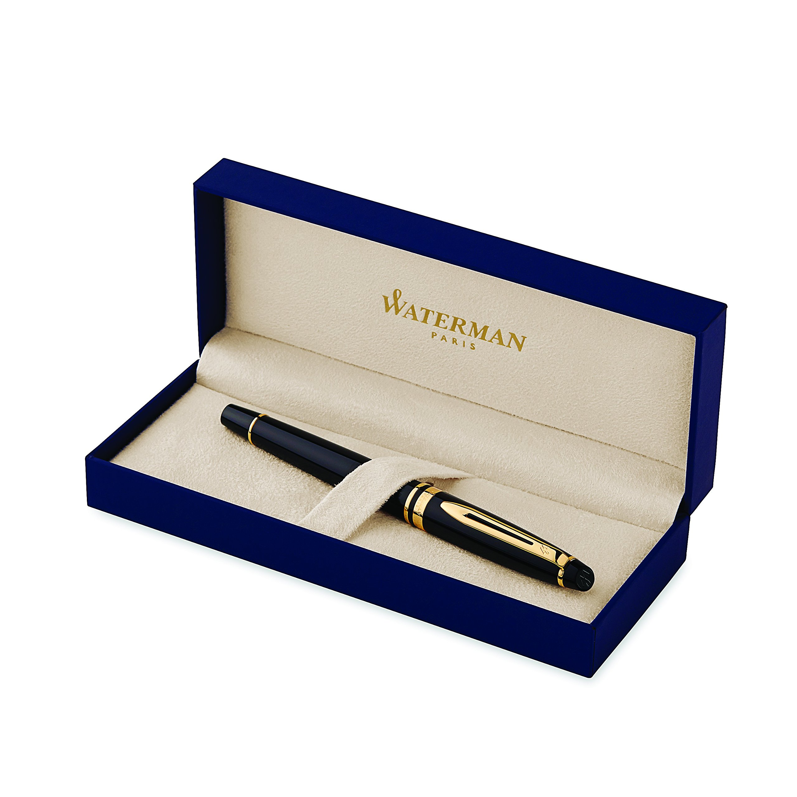 Waterman Expert Deluxe Rollerball Pen with Fine Black refill