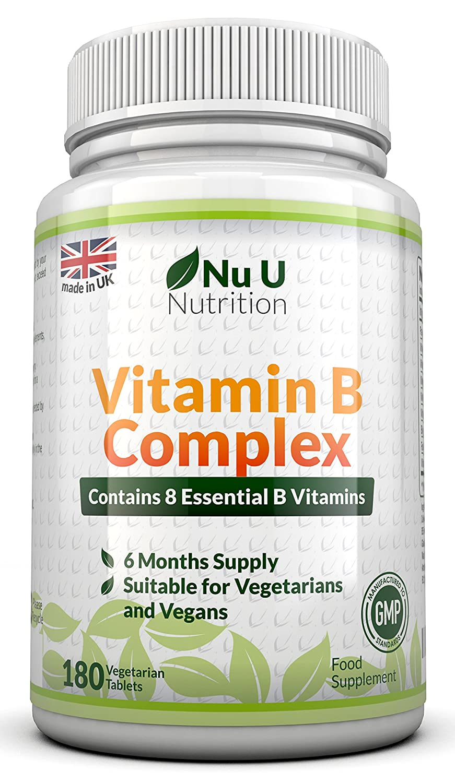 Vitamin B-Komplex - alle 8 B-Vitamine in einer Tablette