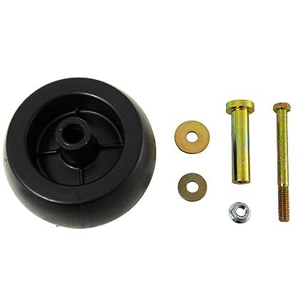 4 USA MADE Exmark Mower Anti Scalp Deck Wheel+KIT 103-3168 103-7263 103-4051