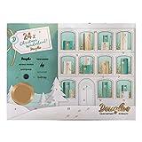 """Exklusiver Douglas Adventskalender 2017 """"Christmas Wonderland"""" für Damen, 24 Fenster mit hochwertiger Kosmetik, Limitierte Auflage im Gesamtwert von ca. 130€"""