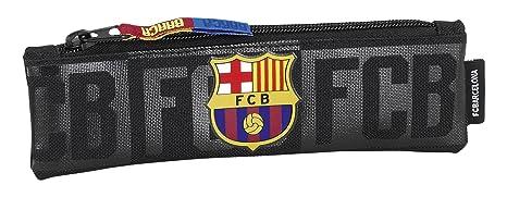 Futbol Club Barcelona FC Barcelona Estuche portatodo Estrecho Color Negro SAFTA 811725025