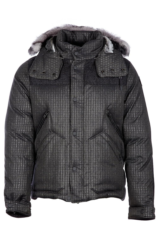 Moncler W cazadoras chaqueta de hombre plumíferos nuevo fur vuivre negro EU 50 (UK 40) 41379 2553541 915: Amazon.es: Ropa y accesorios